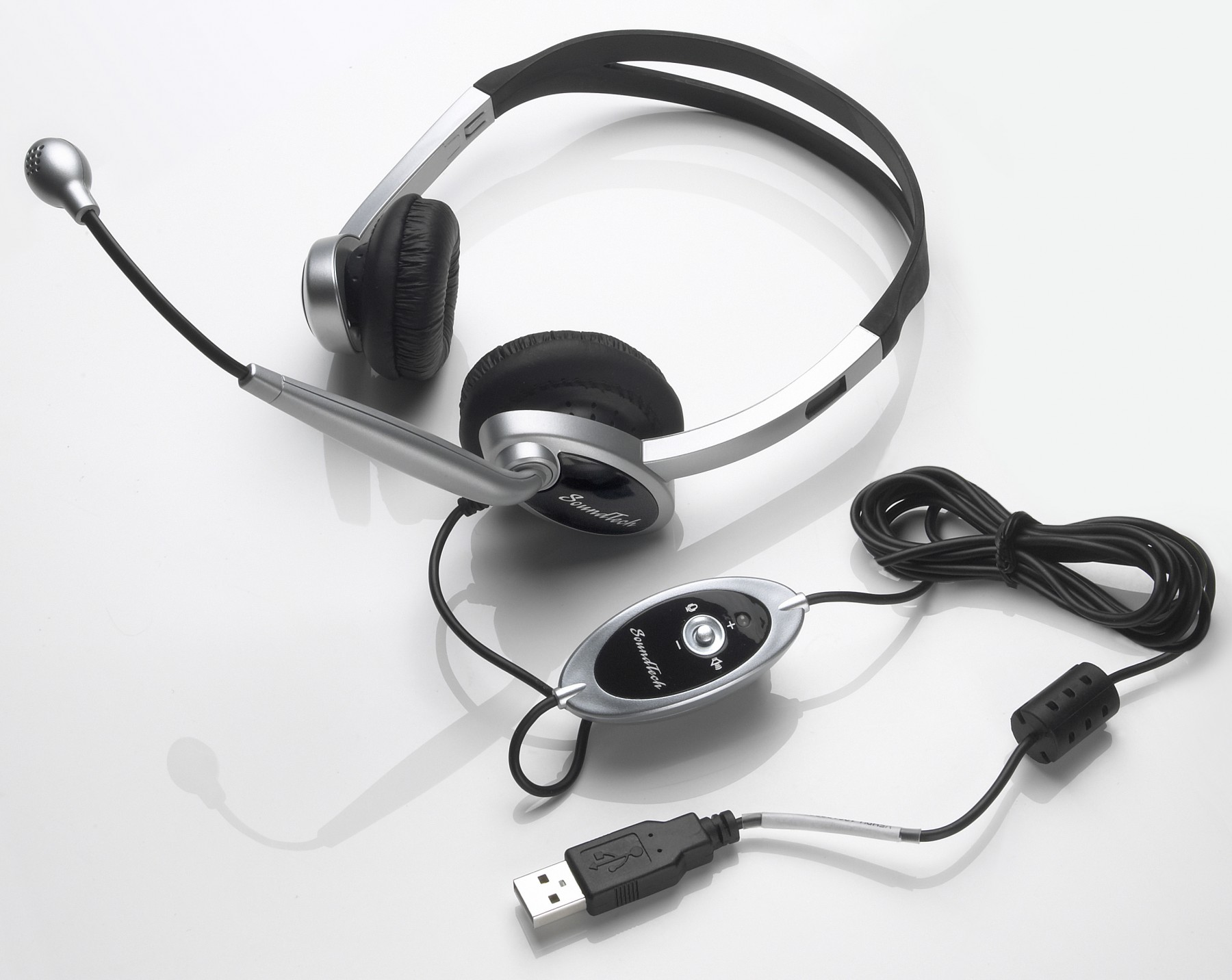 noise canceling headset mic with volume and mute control. Black Bedroom Furniture Sets. Home Design Ideas