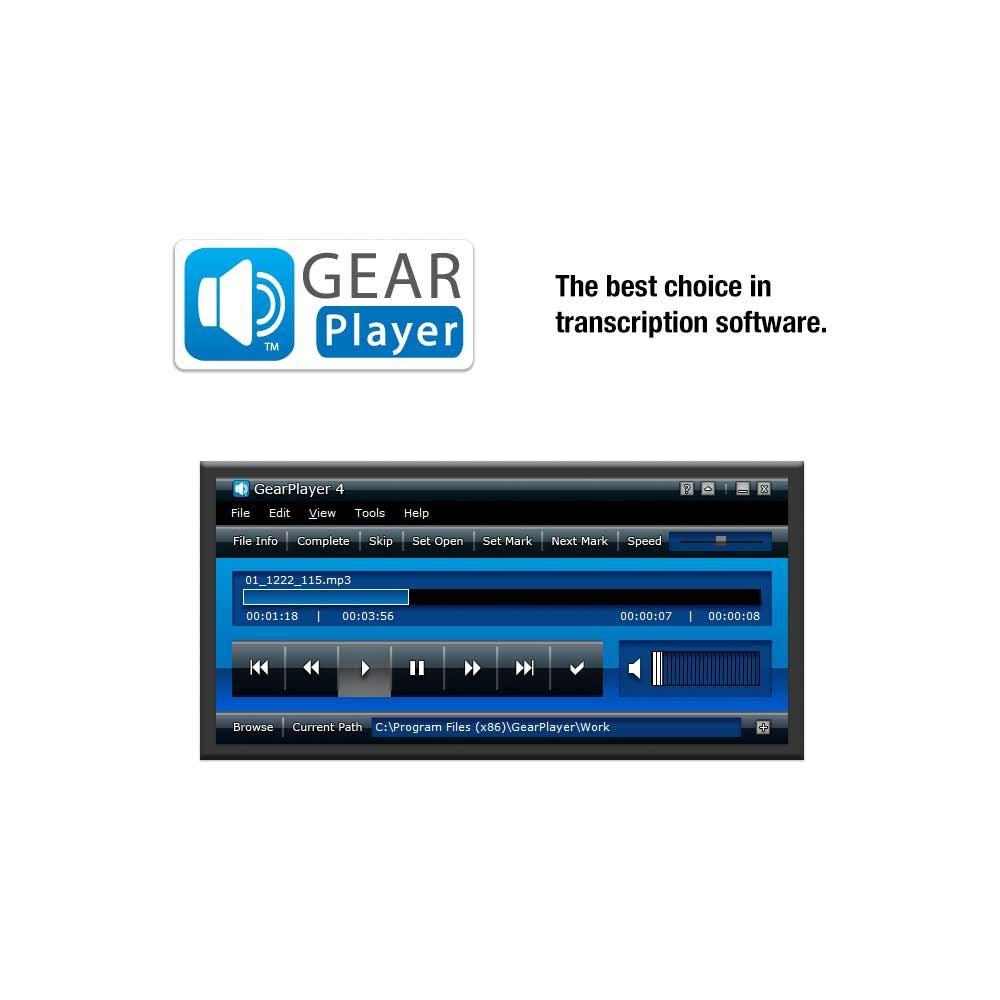 GearPlayer 4 Transcription Software
