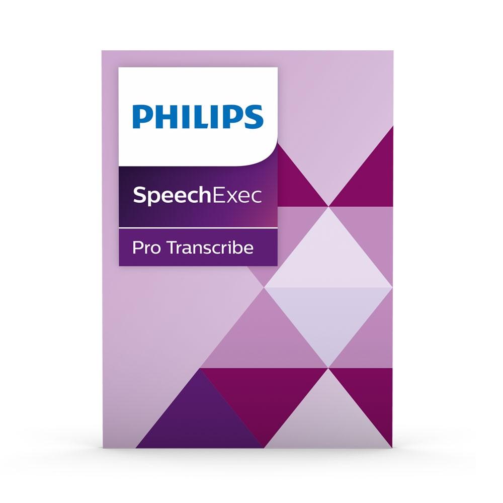 PSE4500 SpeechExec 10 Pro Transcribe by Philips