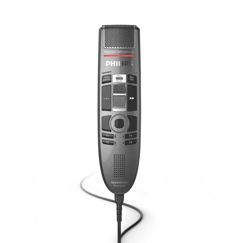 Philips SpeechMike Premium Touch with Slide Switch SMP3710