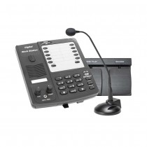 DAC (DA-123-HF) Deluxe Digital Dictation Station with Hands-Free Foot Pedal