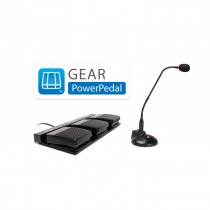 Gear PowerPedal Non Waterproof Foot Pedal Control for Dragon Medical