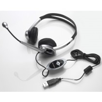Noise Canceling Headset mic with Volume and Mute Control