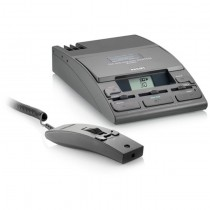 Philips 725D Minicassette Desktop Dictation Machine