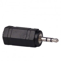 Headset adapter for single channel plug - 3.5 mm to 2.5 mm
