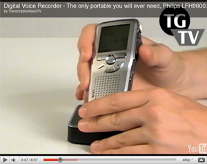 Professional Digital Voice Recorder Video