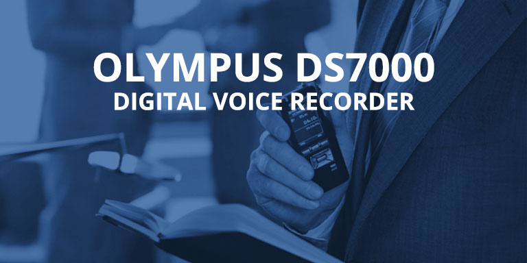 Olympus DS7000 - Digital Voice Recorder