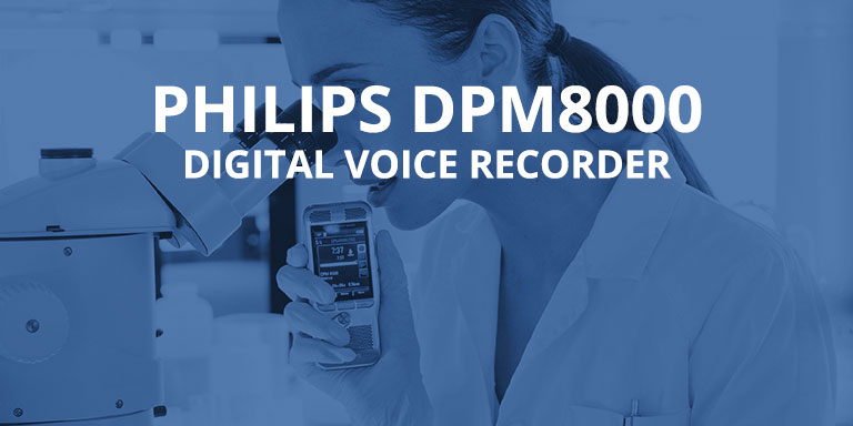 Philips DMP8000 - Digital Voice Recorder
