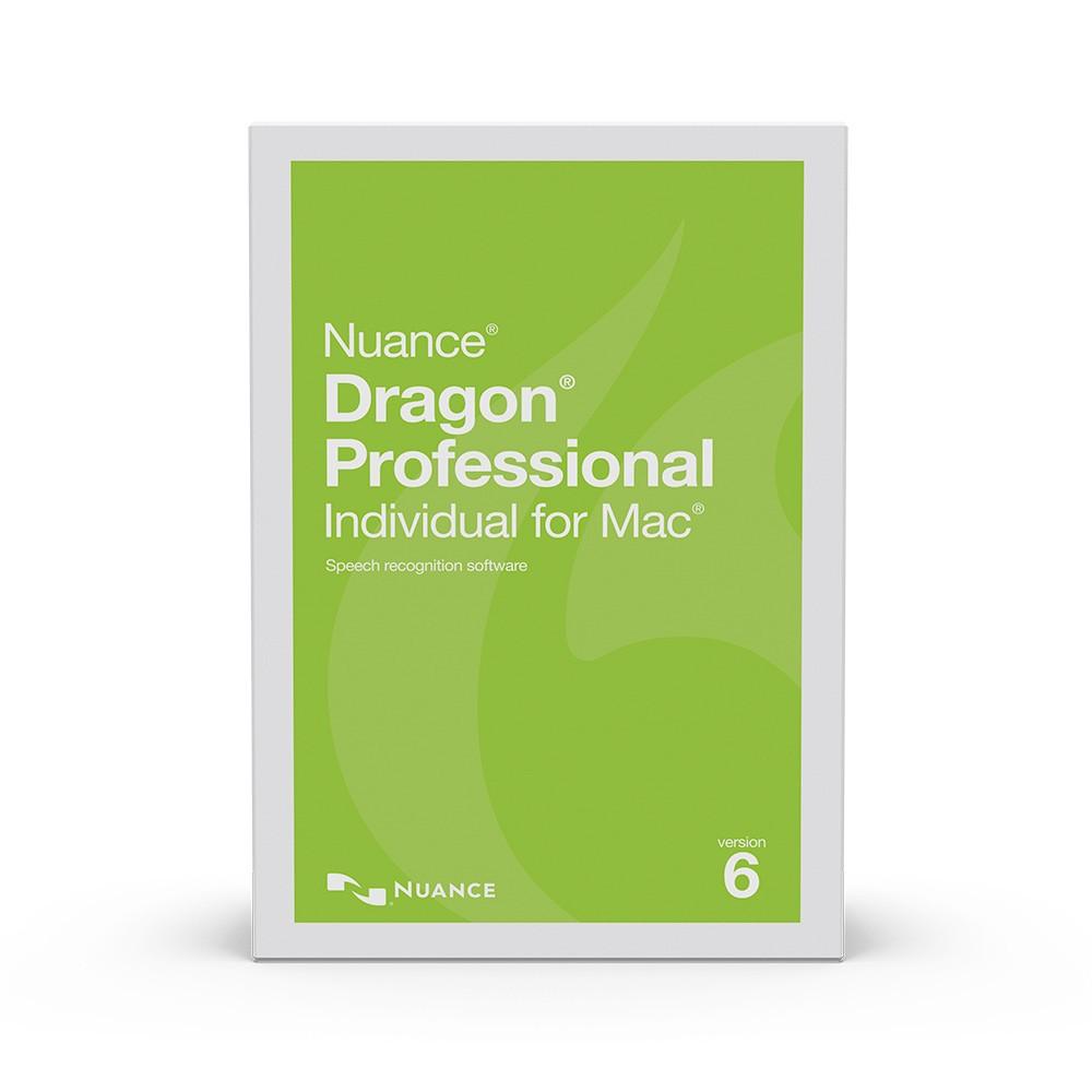 Dragon Professional Individual for Mac v6