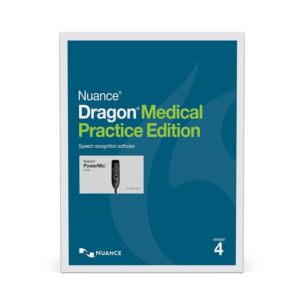 Dragon Medical Practice Edition 4 with Nuance PowerMic III