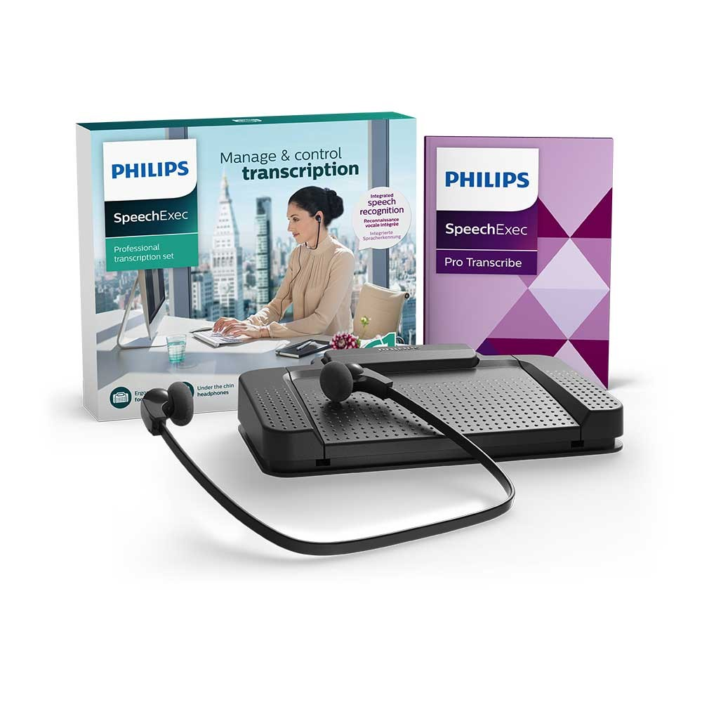 Philips Transcription and Speech Recognition Set - PSE7277