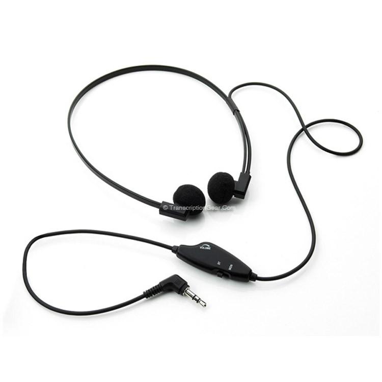 Spectra Headset w/ Stereo/Mono Switch, Volume Control