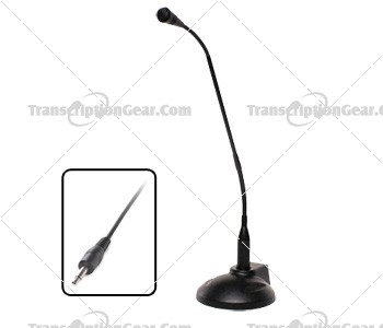 "OPEN BOX - 18"" Gooseneck Microphone with shielded cable and 3.5 mm plug"