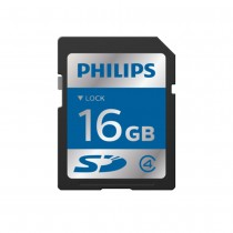 Philips SDHC 16 GB Memory Card