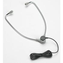 Aluminum Hinged Stethoscope Style Headset with USB Plug