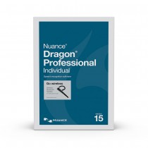 Dragon Professional Individual v15, CD with Wireless Bluetooth