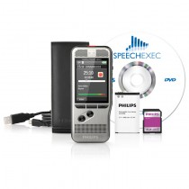Philips DPM6000 Digital Voice Recorder with Push Button Operation
