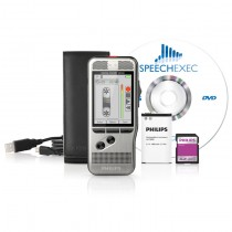 Philips DPM7000 Digital Voice Recorder with 4-Position Slide Switch
