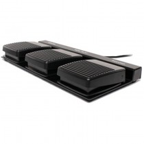 3-Function USB Foot Pedal for Handsfree Dictation