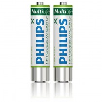 Philips Rechargeable AAA Batteries LFH9154 for DPM Series III