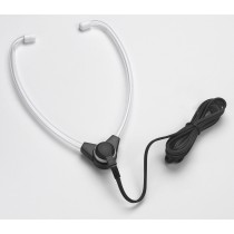 Hinged Stethoscope Style Headset With 3.5 mm Right-Angle Plug