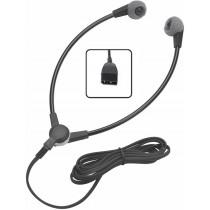 Wishbone style transcription headset for Grundig desktop stations
