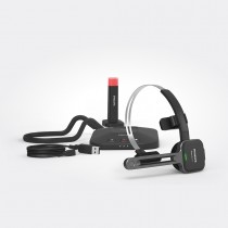 SpeechOne Wireless Dictation Headset w/ Docking Station & Status Light