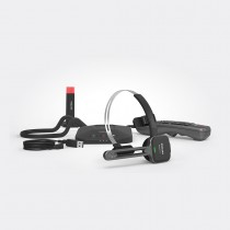 SpeechOne Wireless Dictation Headset w/ Docking Station, Status Light & Remote Control