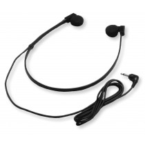 Twin Speaker Under Chin Headset With Right-Angle 3.5mm Plug